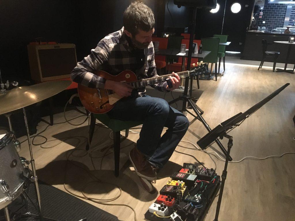 Lydprøve i Lørenskog Jazzklubb