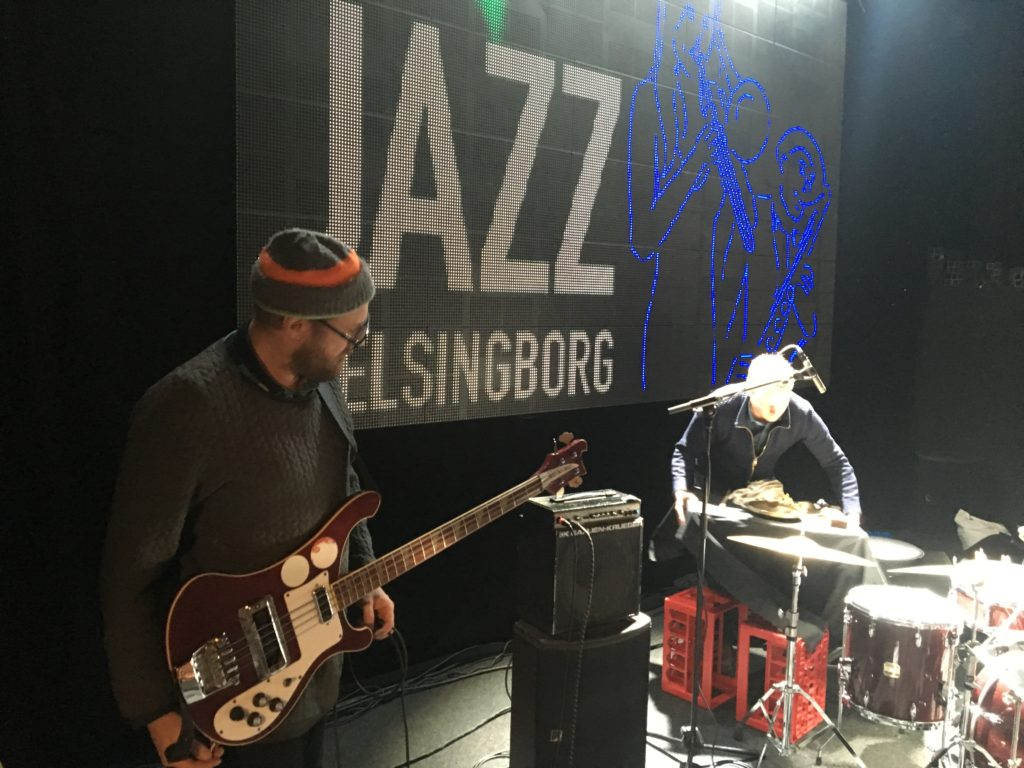 Lydprøve i Jazz i Helsingborg